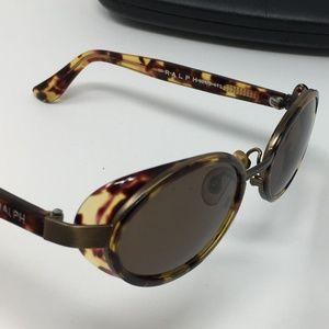 Ralph Lauren oval vintage tortoise sunglasses